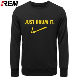 Image 4 - Cool Drums Drummer Rock Roll Sarcastic Funny Graphic Cotton LONG Sleeve Novelty Hoodies, Sweatshirts