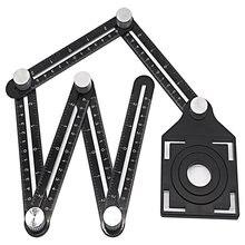 Локатор отверстий для плитки из алюминиевого сплава шестискладная