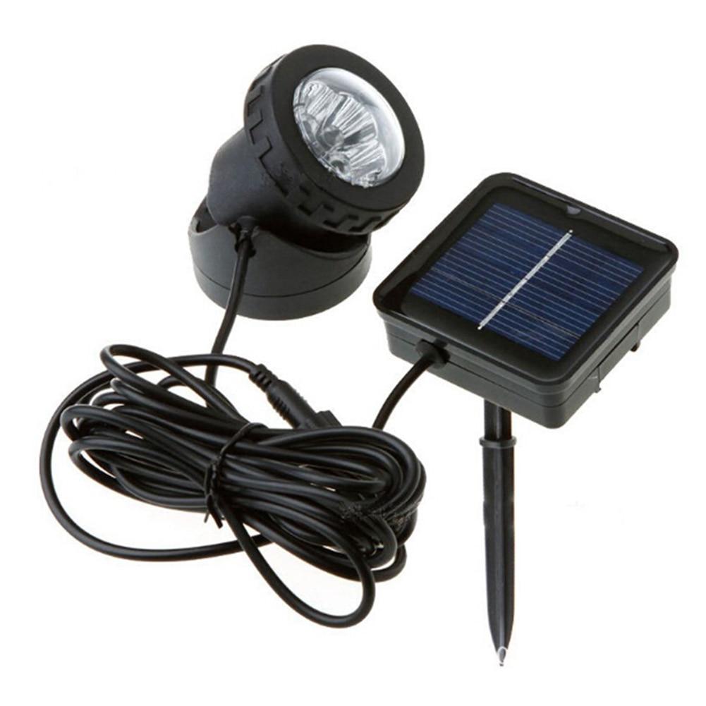 Waterproof Pond Lights Garden Pool UV Outdoor Solar Spot Lamp Light