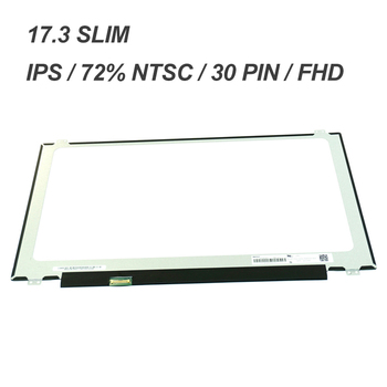 IPS FHD 1920*1080 30 PIN SLIM N1YPX N173HCE-E31 FOR DELL LCD DISPLAY 17.3 5770 P35E (AD12) screen LP173WF4  SPF1