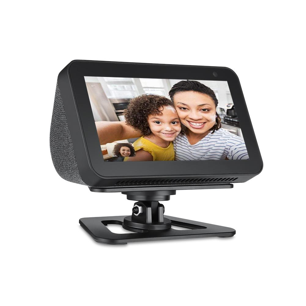 Adjustable Stand Mount Accessories Fully Aluminum Build Anti-Slip Base For Echo Show 5 Support Wholesale Dropship