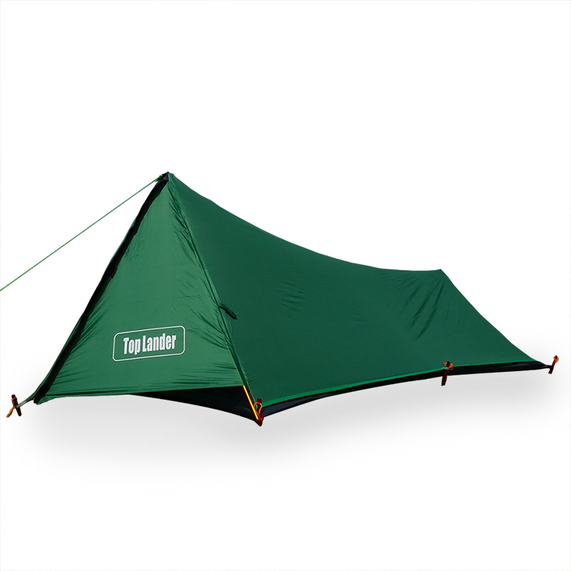 A Tower Ultralight Tent 1 Person For Camping Hiking Mountain Backpacking Waterproof Single Bivvy Tent 3 Season 20D Silicone Tent