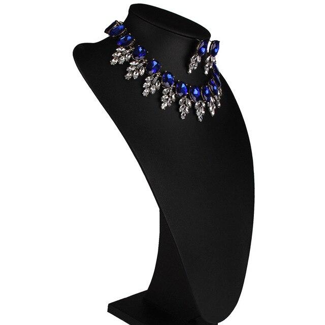 Купить новинка роскошный стразы нагрудник чокер женское ожерелье с