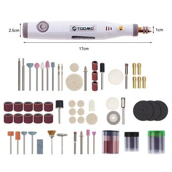 Elektryczna Mini wiertarka elektronarzędzia maszyna do manicure dla Dremel narzędzie 0 3-3 2mm z szlifowania akcesoria zestaw Mini grawerowanie Pen tanie i dobre opinie PINKMAN Mini Drill Domu DIY 50-60HZ 18v Mini Drill 18 v 16000 rpm drilling Polishing