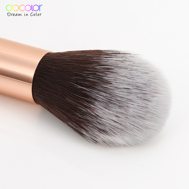 Docolor foundation brush flat top buffing Brushes Fan Contour Powder Brush highlighter makeup Brushes Pincel Maquiagem 5