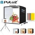 PULUZ софтбокс 3 цвета светильник режимов светильник коробка с регулируемой яркостью светодиодная кольцевая лампа светильник коробка фото св...