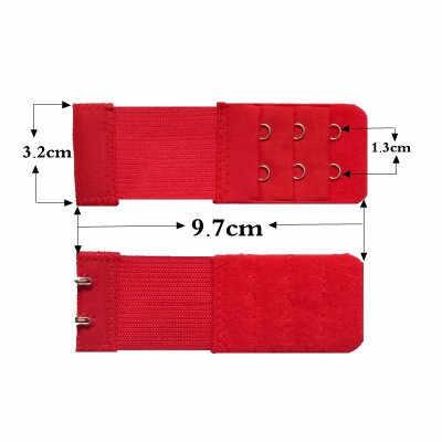חדש חם חזיית מרחיבי רצועה 2 שורות 3 שורות 4 שורות נשים Ajustable מקורבי התארך חזיית וו אבזם חזיית הארכת חגורת