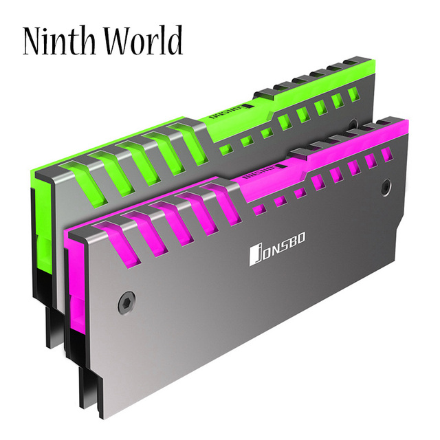 2 шт., радиатор для охлаждения материнской платы DDR3 DDR4
