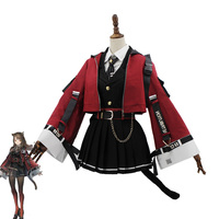 New Game Arknights! SkyFire TEXAS Cosplay Costume Women Cute Dress Halloween Carnival Uniforms Custom Made Full Set