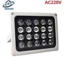 AC 200V 20Pcs Leds IR Illuminators IR Infrared Light LED CCTV Lamp Night-vision IR Fill Light for CCTV Security Camera