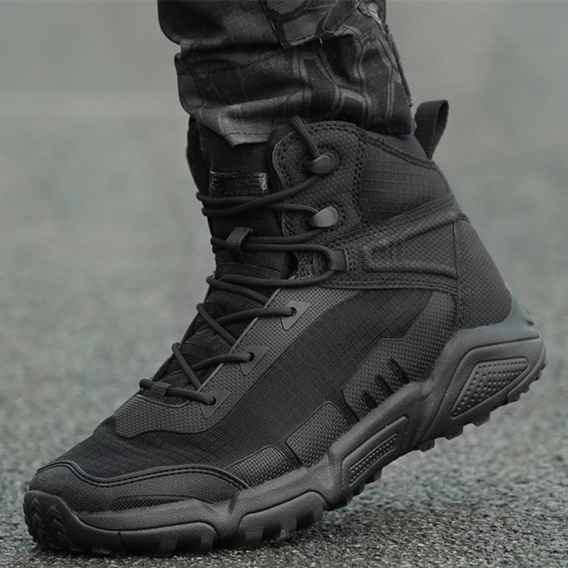Ultralight Waterproof Men Women Training Shoes Army Fan Outdoor Hiking Sports Climbing Non-slip Breathable Desert Tactical Boots