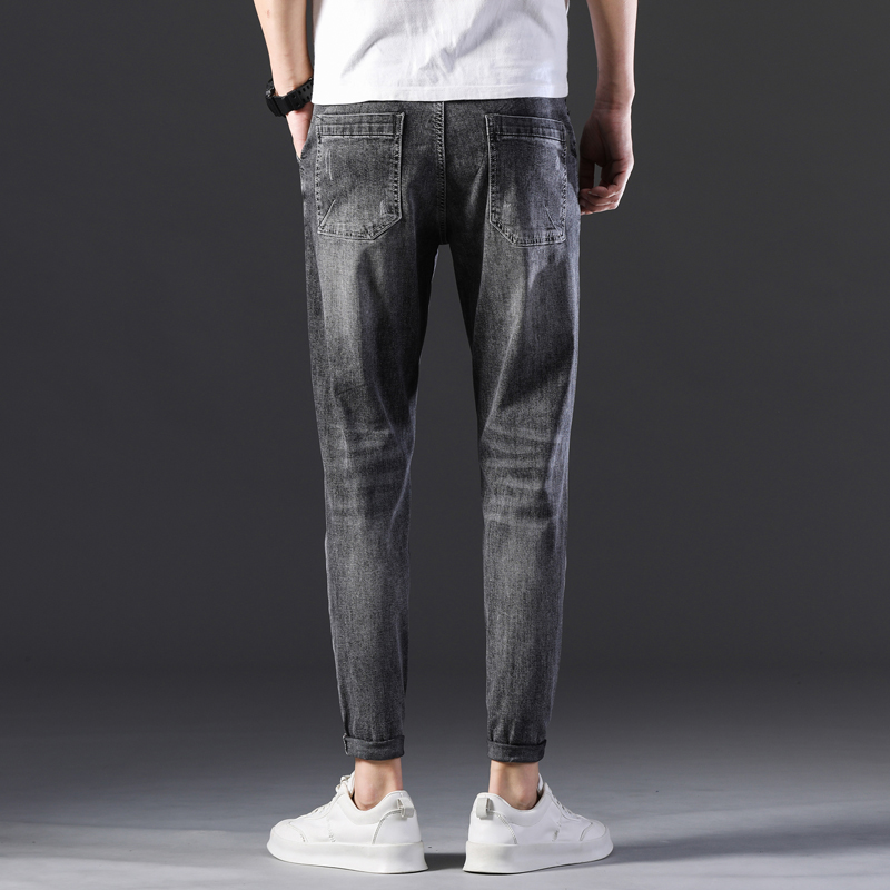 KSTUN Stretch Jeans Men Skinny Gray 2020 New Arrivals Man Long Trousers Slim Fit Cowboys Mens Jeans Fashion Designer Tapered 17