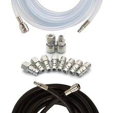 10 Pcs Air Coupler Connector DE Specification Fast Plug Kit Quick Connect Air