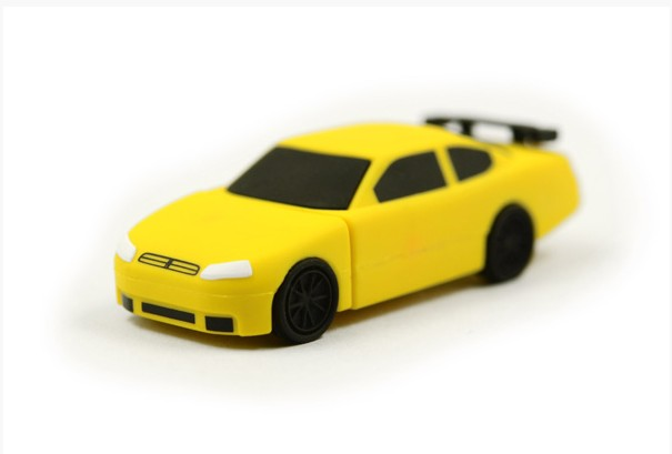Usb-Stick Sports Cartoon Gift Pen-Drive 4GB 8GB 16GB 32GB 64GB Car-Memoria Racing-Car