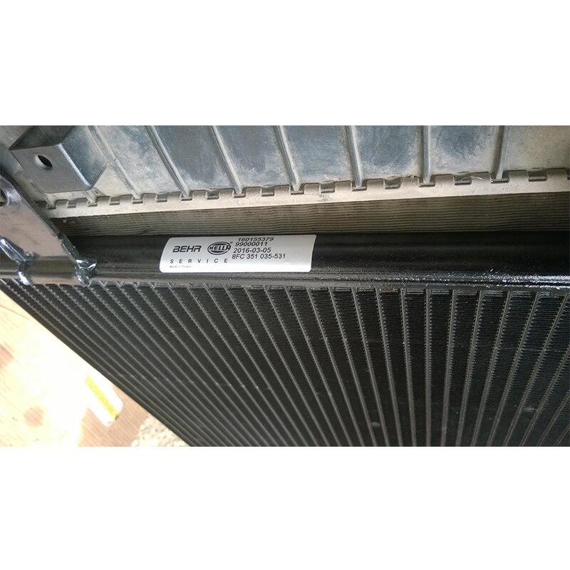 Capacitor (radiator конд.) for Audi 100, A6 (572/388/20mm.) Hella 8FC 351 035-531 запчасти audi 100