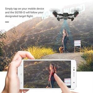 Image 5 - SG700 D profissional kamera drona 720p/1080p 4k HD WiFi FPV silnik szczotkowy śmigło długi na baterie powietrze RC dron Quadcopter