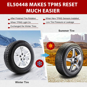 Image 2 - El50448 tpms re learn para gm opel buick chevrolet sensor de monitor de pressão dos pneus eletrônico reset EL 50448