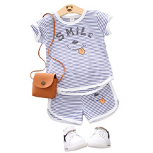 Summer Baby Boy Clothing Children Girl Fashion Cartoon Pattern T Shirt Shorts 2Pcs/set Infant Casual Clothes Suit Kid Tracksuits wholesale baby girl clothes summer blue sleeveless top fish embroidery decor pattern fashion ruffle shorts matching boy t shirt