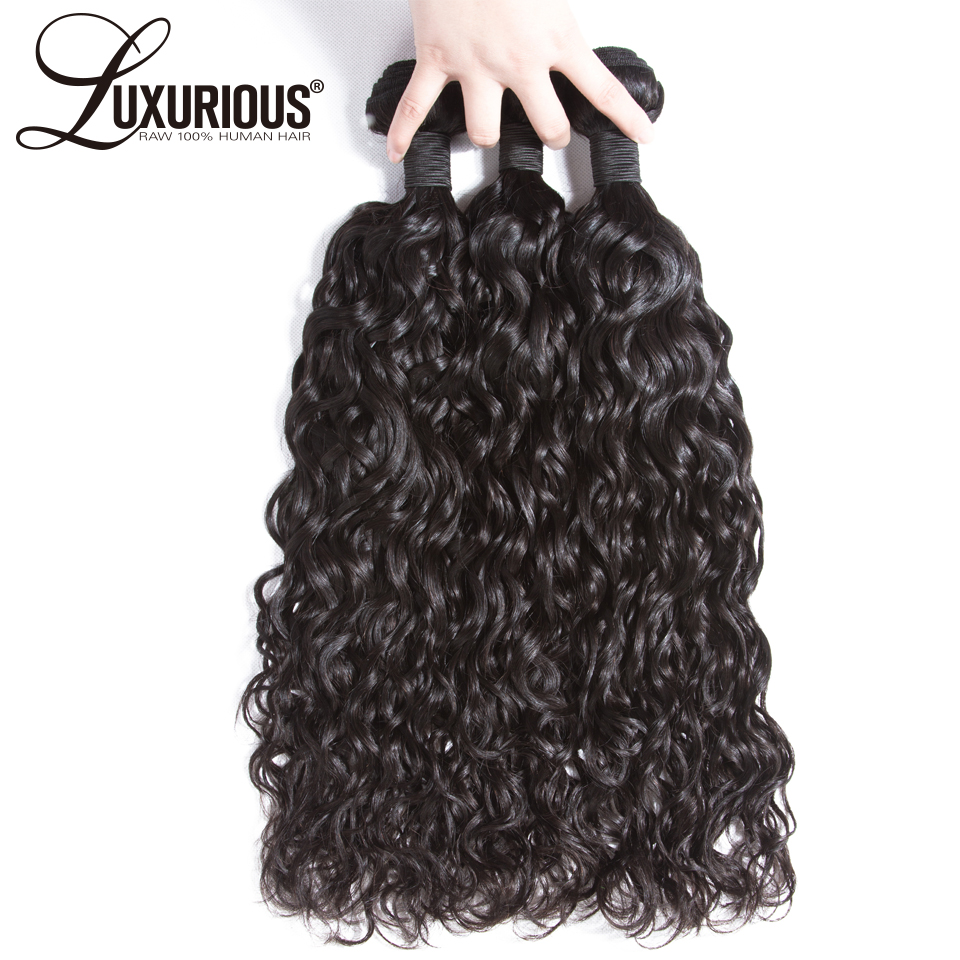 Natural Wave Human Hair Bundles Machine Double Weft Hair Extension 8-30inch 100% Peruvian Remy Hair Natural Color Can Be Dyed