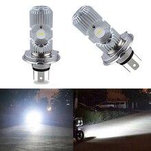 цены на car light Energy-saving car light bulb binocular electric  motorcycle led headlight H4 interface  в интернет-магазинах