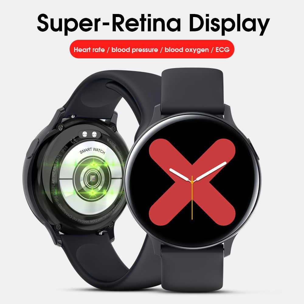 LEMFO S20 ECG ساعة ذكية الرجال النساء IP68 مقاوم للماء معدل ضربات القلب ضغط الدم Smartwatch اللياقة البدنية تعقب للهاتف شاومي سامسونج