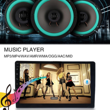 Onever New 2 Din Car Press Radio Stereo9 Inch Android 8.1 Quad Core GPS WIFI MP5 Player + 1 Rear Camera With 4 LED Car HD Player
