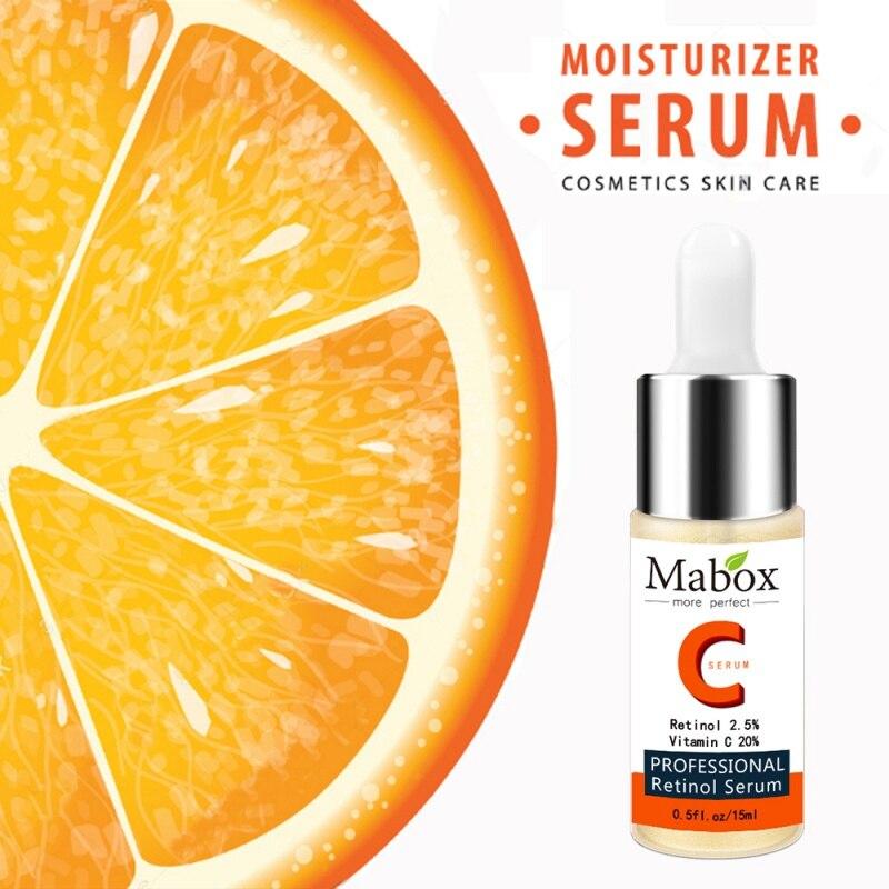 Hyaluronic Acid Face Skin Care Acne Treatment Blackhead Remover Day Creams Moisturizers Essence New Vitamin C Whitening Serum