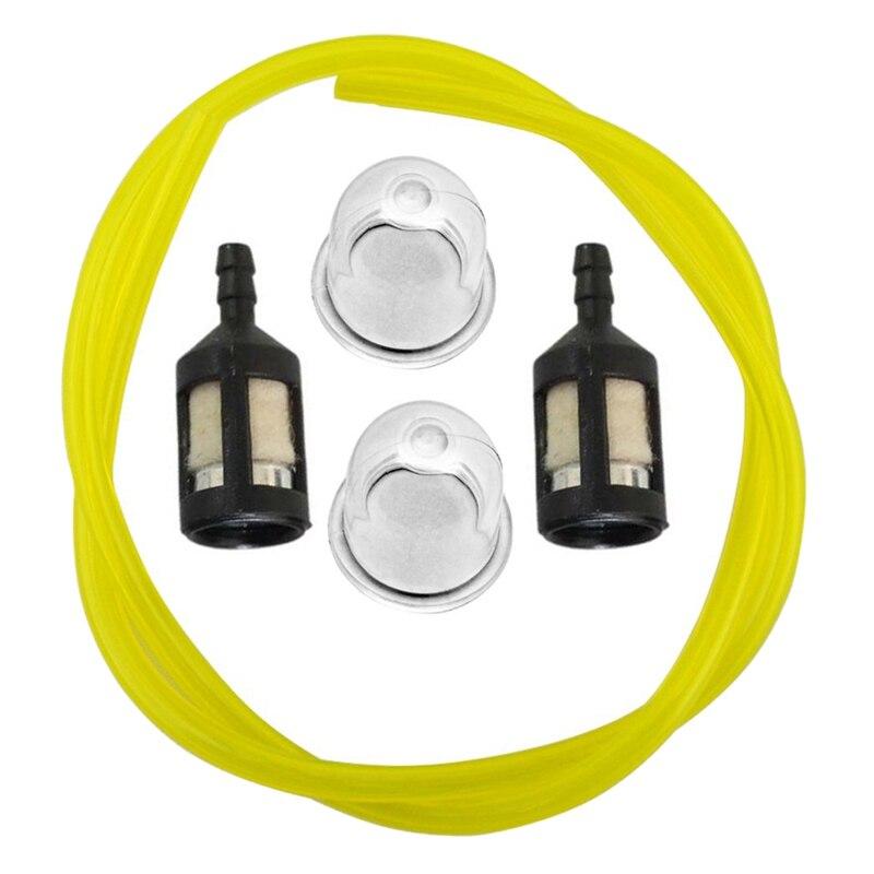 New-Primerbulb Bulb + Fuel Filter + Fue Line For Homelite Bp250 Hb180 Hb18V Gst Gst18 Gstbc Hbc18 Hbc30 Hbc30B Hgt Hlt15 Hlt16 S
