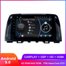 "9 ""IPS Android 9.0 autoradio pour Mazda 6 Atenza 2013 2014 2015 autoradio WiFi GPS BT 5.0 DSP Audio vidéo Headunit pas de DVD(Hong Kong,China)"