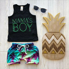Toddler Baby Boy Clothes Vest T shirt Tops+Tree Shorts Pants Outfits Set children clothes roupa infantil boys clothing стоимость