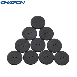 Image 1 - 100pcs High temperature resistant uhf rfid PPS laundry tag small with Alien H3 chip used for laundry management