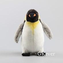 Peluche pingouin Super doux de 23 CM, jouet Animal de dessin animé, poupée réaliste, cadeau d'anniversaire pour bébé fille