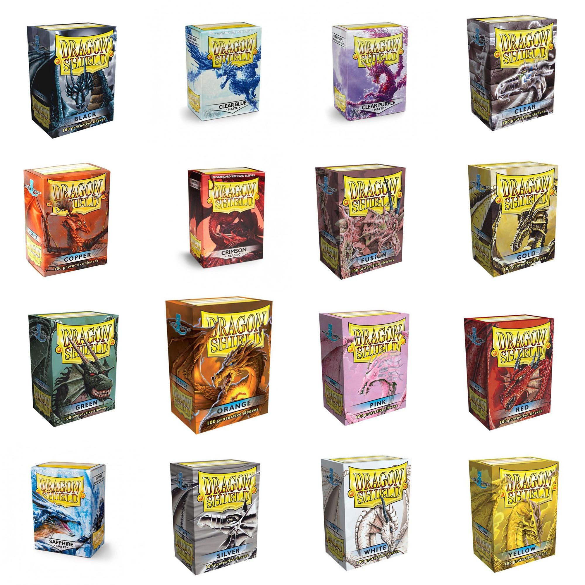 Karten Box Gaming Box Blue Dragon Shield