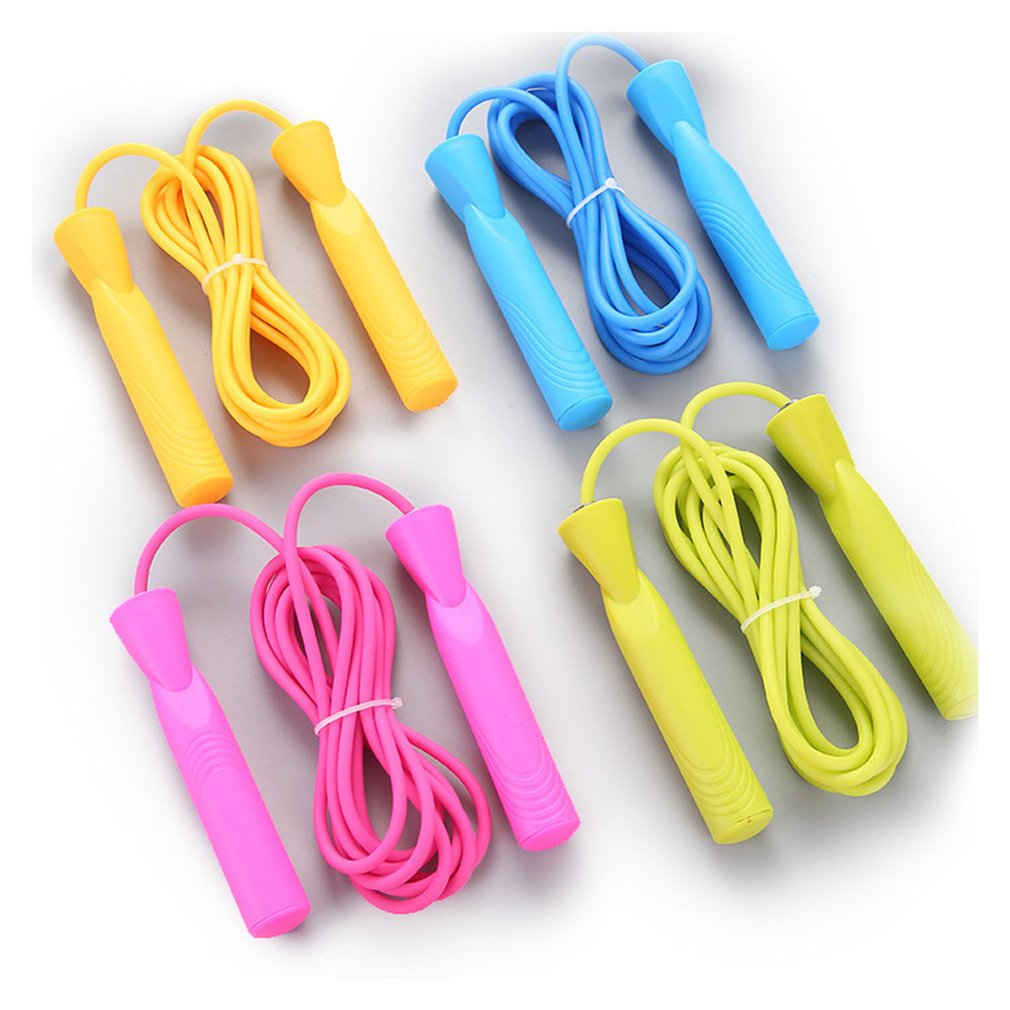 Children's Professional Skipping Rope Adjustable With Plastic Skipping Handle Solid Pvc Jump Rope Children Skipping Rope