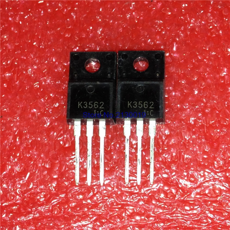 10pcs/lot 2SK3562 TO-220F K3562 TO-220 TO220F New Original In Stock