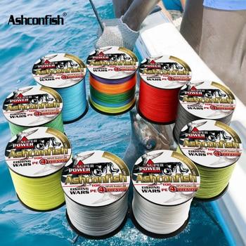 ¡Nuevo! hilo trenzado multifilamento de 300 M, 2LB-100LB Pe, hilo trenzado súper fuerte, hilo de pesca 4x