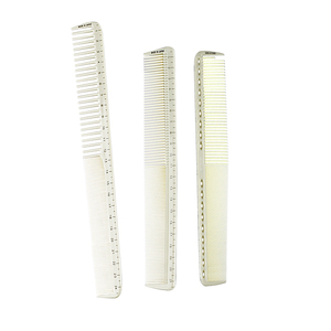 Image 3 - 6 Pcs/Set Professional Hairdressing Comb Barber Cutting Hair Comb Anti Static Salon Hair Styling Tools Hairdresser Measure Comb