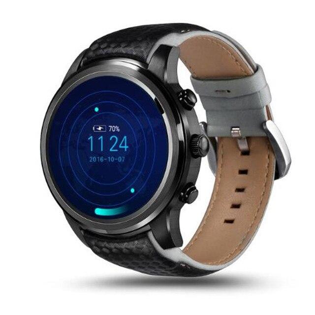 LEM5 GPS mężczyźni inteligentny zegarek sportowy Android 3G Bluetooth Call tętno Tracker do monitorowania aktywności fizycznej krokomierz zegarek Smartwatch z telefonem zegarek