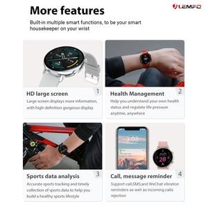 Image 5 - LEMFO GW33 Smart Watch Men Bluetooth Call IP67 Waterproof Fitness Tracker Sleep/Heart Rate/Blood Pressure Monitor Sports Watch