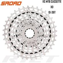 SROAD CASSETTE 11s Cassette 10-36T 11 speed Cassette  CNC Bike Freeewheel fits SRAM XD Super Light CNC Made 261g