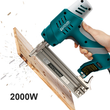 Nail-Gun Nail-Ejection-Device Electric Shooter Straight-Tools F30 Dual-Purpose