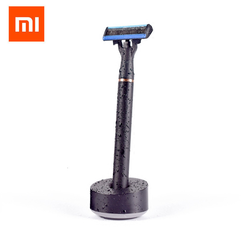 Original Xiaomi Mijia Men Women Shave Razor ,3 In 1 Sets Magbetic Replace The Clip For Xiaomi Smart Home Kit