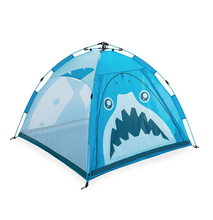 Zenph Children Camping Tent Outdoor Indoor Dual-use Automatic Speed Open Tents Hiking Beach Barraca