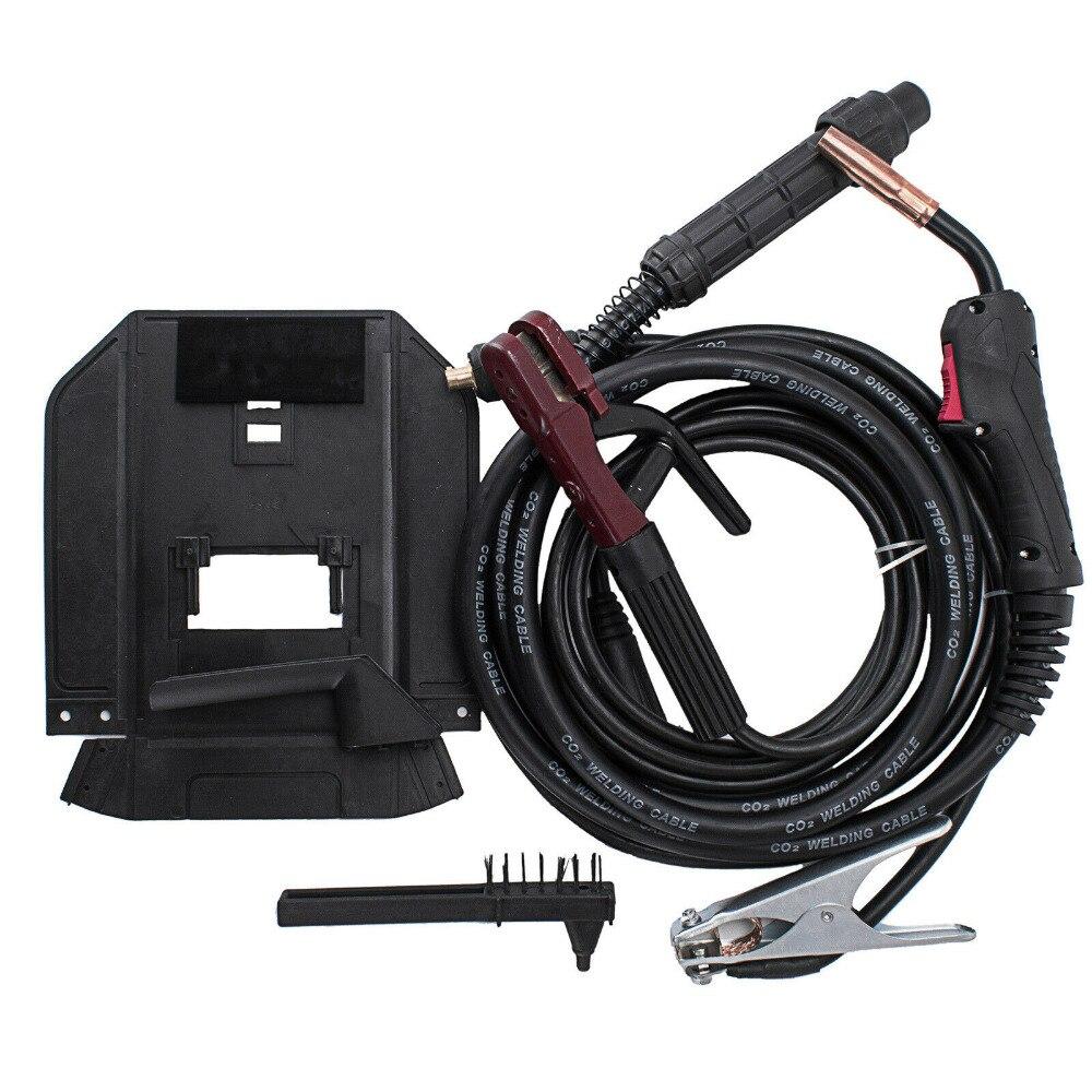 MIG 280A CO2 IGBT инвертор сварочный аппарат газ/без газа MIG MAG MMA 2 в 1 портативный MIG сварочный аппарат