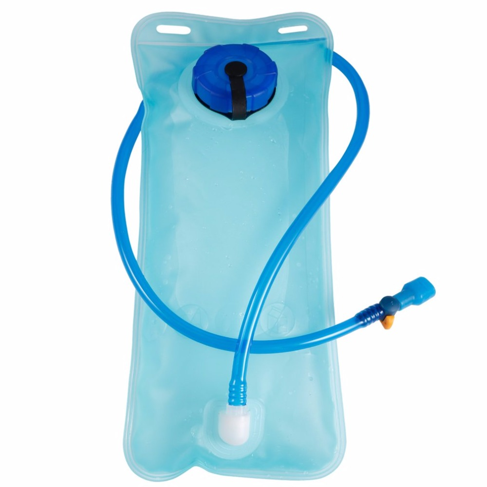OUTAD Portable 2L PEVA Water Bladder Backpack Hydration System Water Pack Camping Hiking Trekking Climbing Water Bag