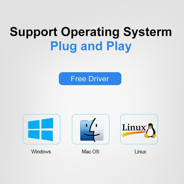 HUB USB 3.0 HUB USB Splitter Multi USB 3.0 2.0 HUB USB3 4/7 Porta Multiporta Hab PC Accessori con Adattatore di Alimentazione per Computer 5