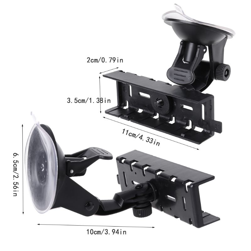 Panel Mount Holder Bracket Support For FT8900 FT-8900 Sucker Suction Cup Kit