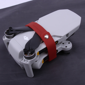 Image 5 - Soporte de hélice para Mini hélices de DJI Mavic, Clip de silicona, protección de fijación, accesorios para Drones