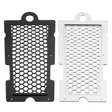 motorcycle engine oil cooler radiator system for gn125 en125 en150 gz125 gz150 dr200 qm200 gn gs gsx en tu dr 125 150 200cc Motorcycle Honeycomb Oil Cooler Radiator Shield Protector Radiator Guard Mesh For Harley Softtail Fat Boy 2018-2020 2019