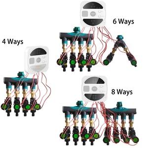 WIFI подключение умный таймер полива сада орошения контроллер водонепроницаемый водяной клапан орошения Таймер Умная Система полива